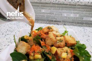 Restoran Usülü Hardallı Salata Sosu Tarifi