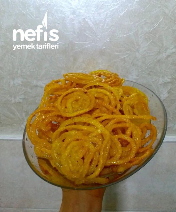 Hindistan'ın En Popüler Tatlısı Jalebi