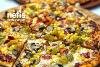 Pizza (Dominosu) Eve Getirdik Tarifi