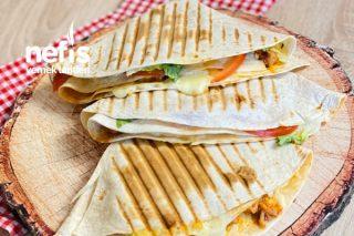 Chicken Tortilla Wrap Tarifi