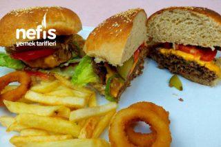Evde Hamburger Nasıl Yapılır | En İyi Hamburger Ekmeği | Hamburger