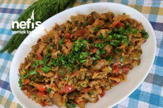 Patlıcan Çullama (Köz Patlıcan Ve Biberli) Tarifi