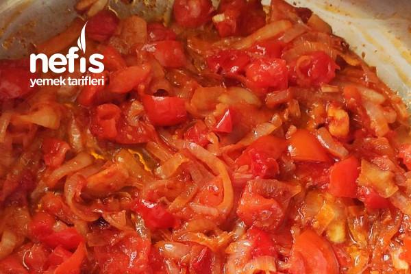 Patlıcan Çullama (Köz Patlıcan Ve Biberli)