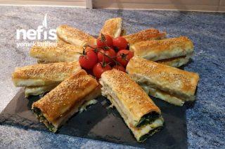 Baklavalık Yufkadan Ispanaklı Börek (Videolu) Tarifi