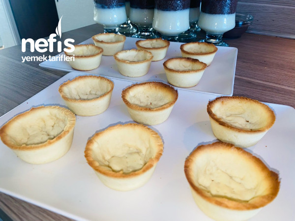 Cheesecake Tartolet (Pismeyen Ve İpeksi Dokusuyla Krema)