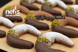 Çikolatalı Şahane Ay Kurabiyesi Tarifi