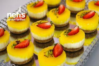Mini Muffin Kalıbında Cheesecake Tarifi