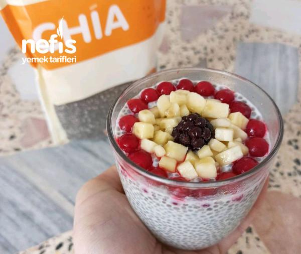 Sağlıklı Chia Puding