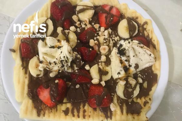 Tost Makinesinde Waffle