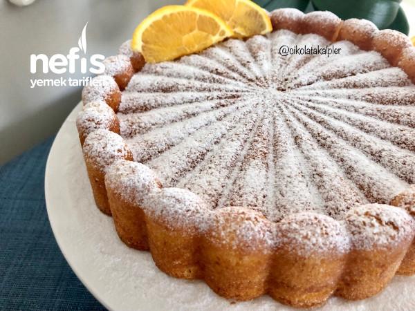 Portakallı Pamuk Kek (Sütsüz Yoğurtsuz)