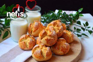 Portakallı Sütlü Kurabiye (Anne Kurabiyesi) Tarifi
