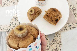 Şeker Yok Yağ Yok Muzlu Muffin Tarifi