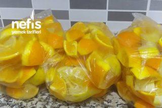 Yaz İçin Portakal Ve Limon Saklama Tarifi