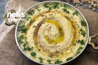 Çok Kolay Hızlı Ve Lezzetli Hummus Tarifi (Humus)