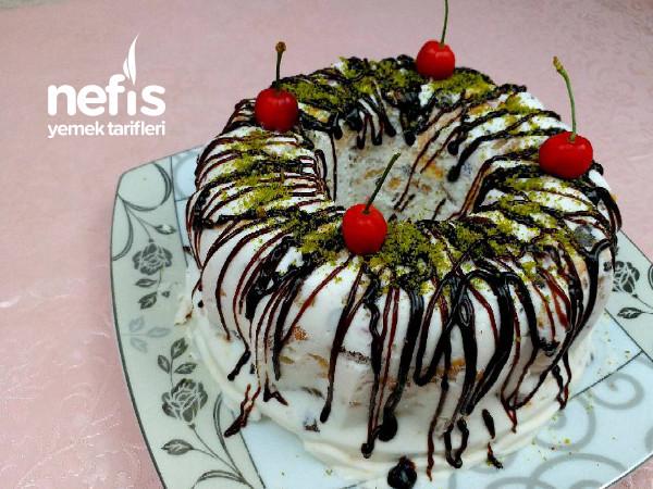 En Kolay Yaz Pastası | Parfe Tarifi | Serinletici Pasta Parfe