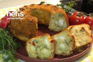 Kek Kalıbında Otlu Peynirli Çörek Tarifi