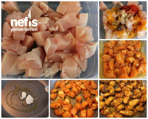 Bayılarak Yiyeceğiniz Tavuk Wraplar (Yüzde Yüz Lezzet Garantili)