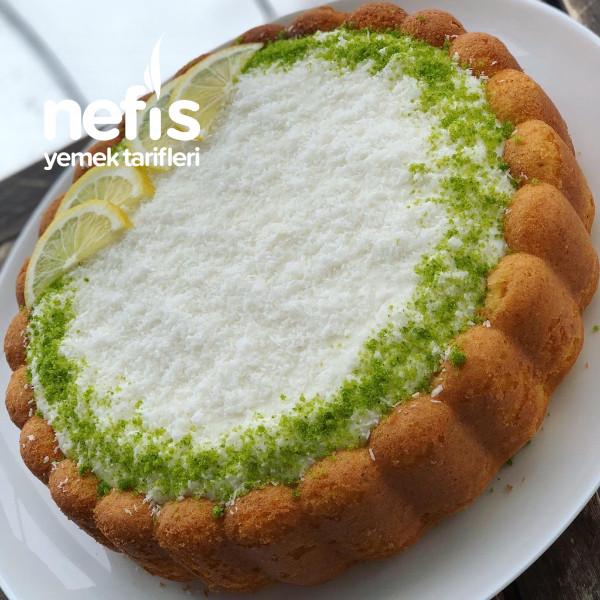 Muhallebili Limonlu Enfes Tart Kek