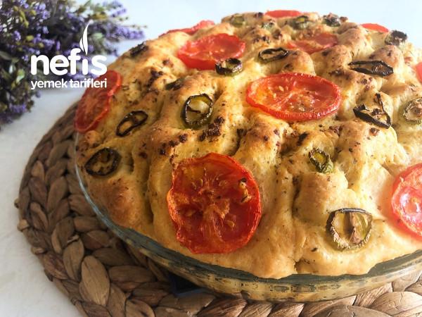Öyle Bir Lezzet Ki Sürekli Yapmak İsteyeceksiniz (Sarımsaklı Kekikli Ekmek Tarifi)