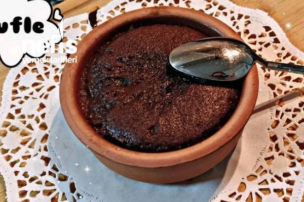 Tencerede 8 Dakikada Bol Çikolatalı Sufle