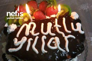 Doğum Günü Pastası Yaş Pasta Tarifi