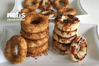 Pastane Usulü Tam Ölçülü Kandil Simidi (Videolu) Tarifi