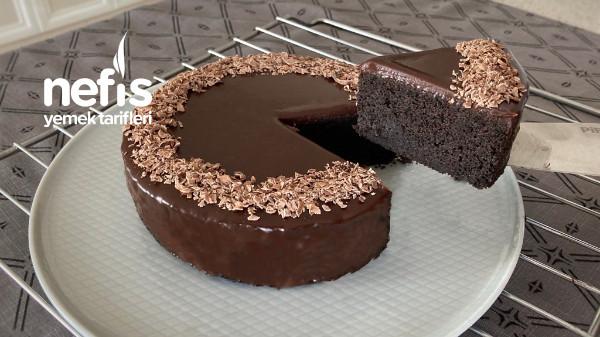 Unsuz, Yumurtasız, Şekersiz Çikolatalı Pasta (Videolu)