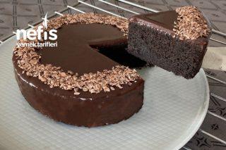 Unsuz Yumurtasız Şekersiz Çikolatalı Pasta (Videolu) Tarifi