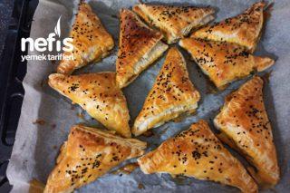 Ispanaklı Peynirli Milföy Böreği Tarifi