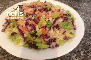 Karışık Kış Salatası Tarifi