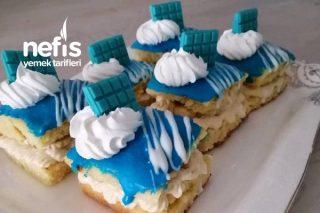Mavi Dilim Pasta Tarifi