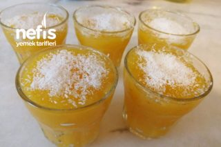 Sadece 3 Malzeme İle Portakallı Pelte Tarifi