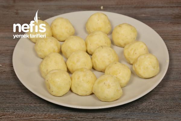 Renkli Patates Topları Yapılışı