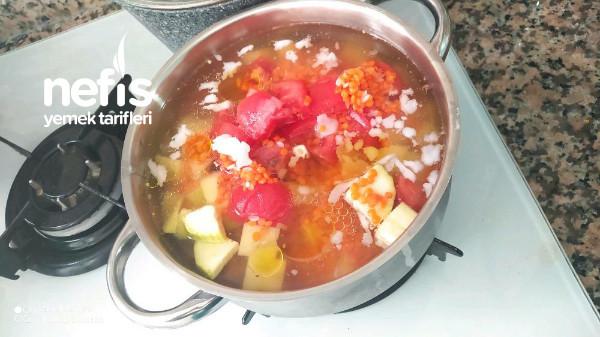 Sebze Çorbası Bol Vitaminli