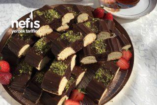 Çikolatalı Şerit Kurabiye Tarifi