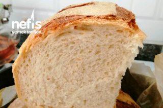 Döküm Tencerede Çıtır Ekmek Tarifi