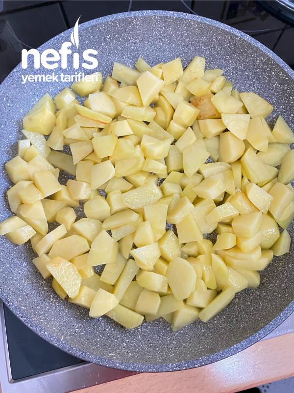 Fırında Kahvaltılık Patates