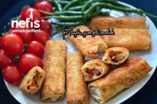 Kahvaltıya Çok Nefis Pizza Börek Tarifi