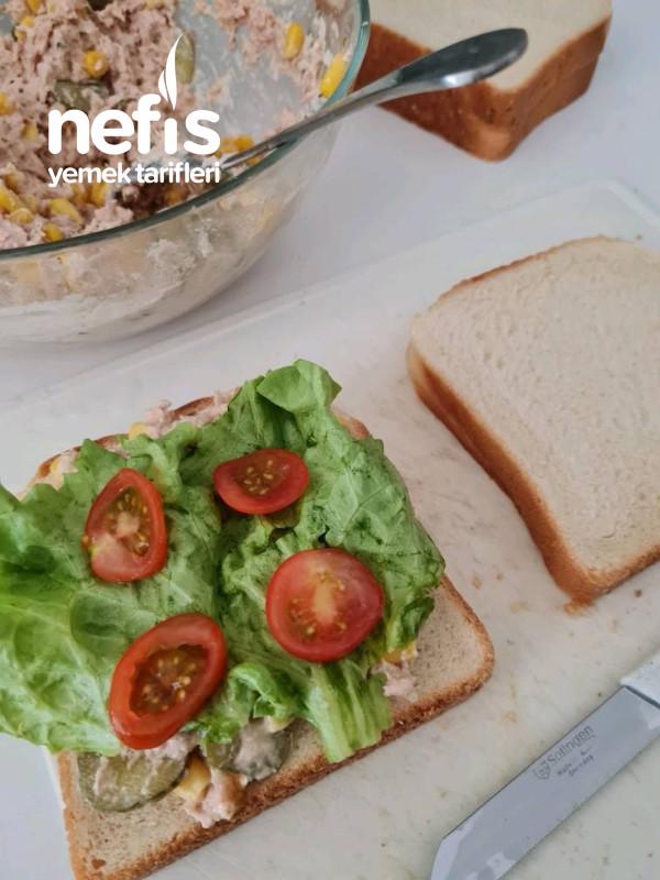 Nefis Ton Balıklı Sandviç Çocuklar Bayılıyor
