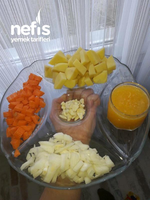 Portakalı Kereviz Yemeği