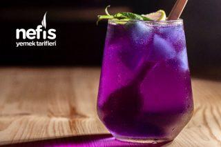 Rengarenk Soda Limon (Butterfly Pea Tea Mavi Kelebek Çayı) Videolu Tarifi