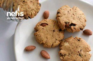 Bademli Çikolatalı Cookie Tarifi