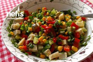 Enginar Salatası (Enginar Yemeyenlere Yediren Salata Garantili) Tarifi