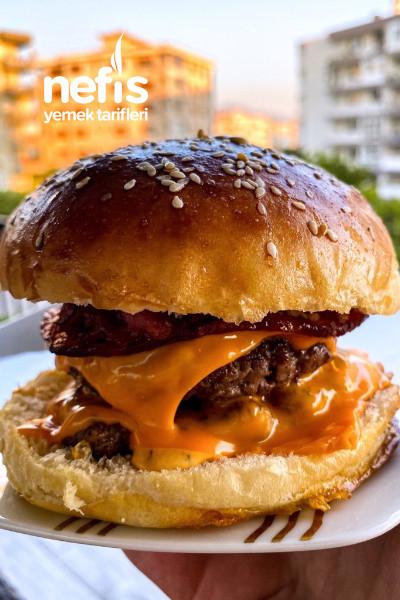 Ev Yapımı Enfes Hamburger