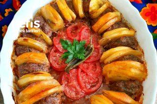 Fırında Köfte Patates Dizmesi Tarifi