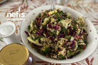 Karabuğdaylı Diyet Salata Tarifi