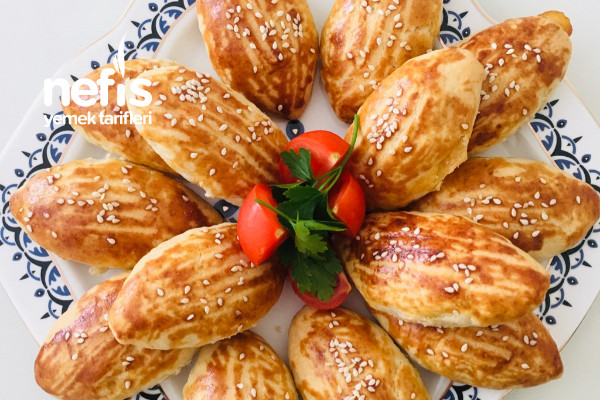 Pastane Usulü Kıyır Kıyır Poğaça