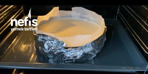 Artık Pastaneden Almayın ️çatlamayan Çökmeyen Tam Ölçü Vişneli Cheesecake Tarifi