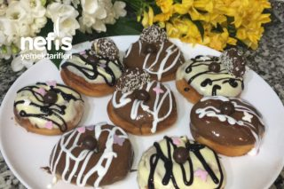 En Kolay, Harika Evde Donut Tarifi   Donut Nasıl Yapılır ?