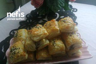 Kahvaltılık Milföy Börek Tarifi